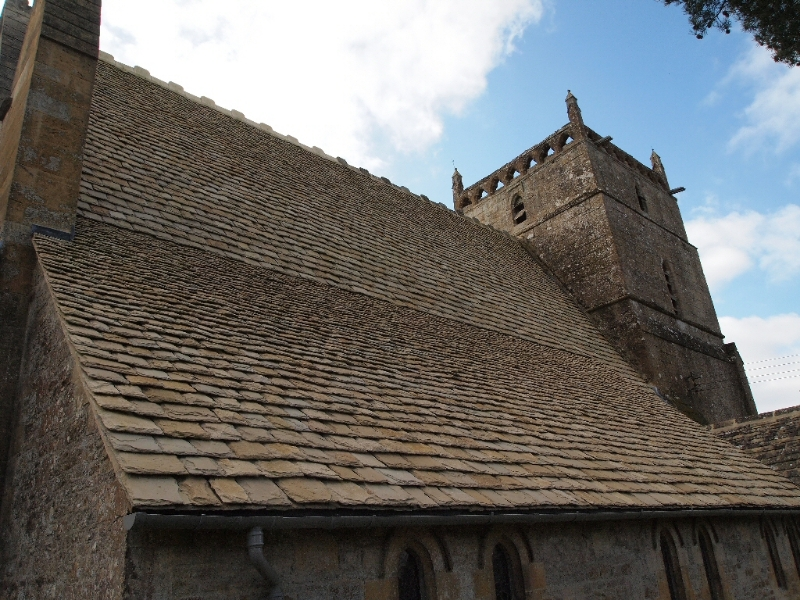 Wyck Rissington Church - new roof