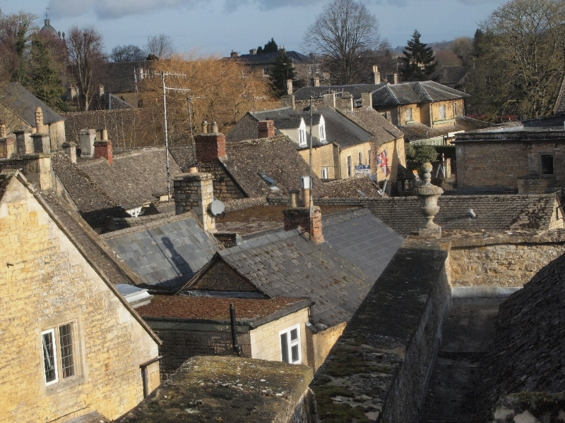 Bourton on the Water - view from bedroom window