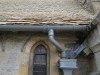 Wyck Rissington Church - detail with date