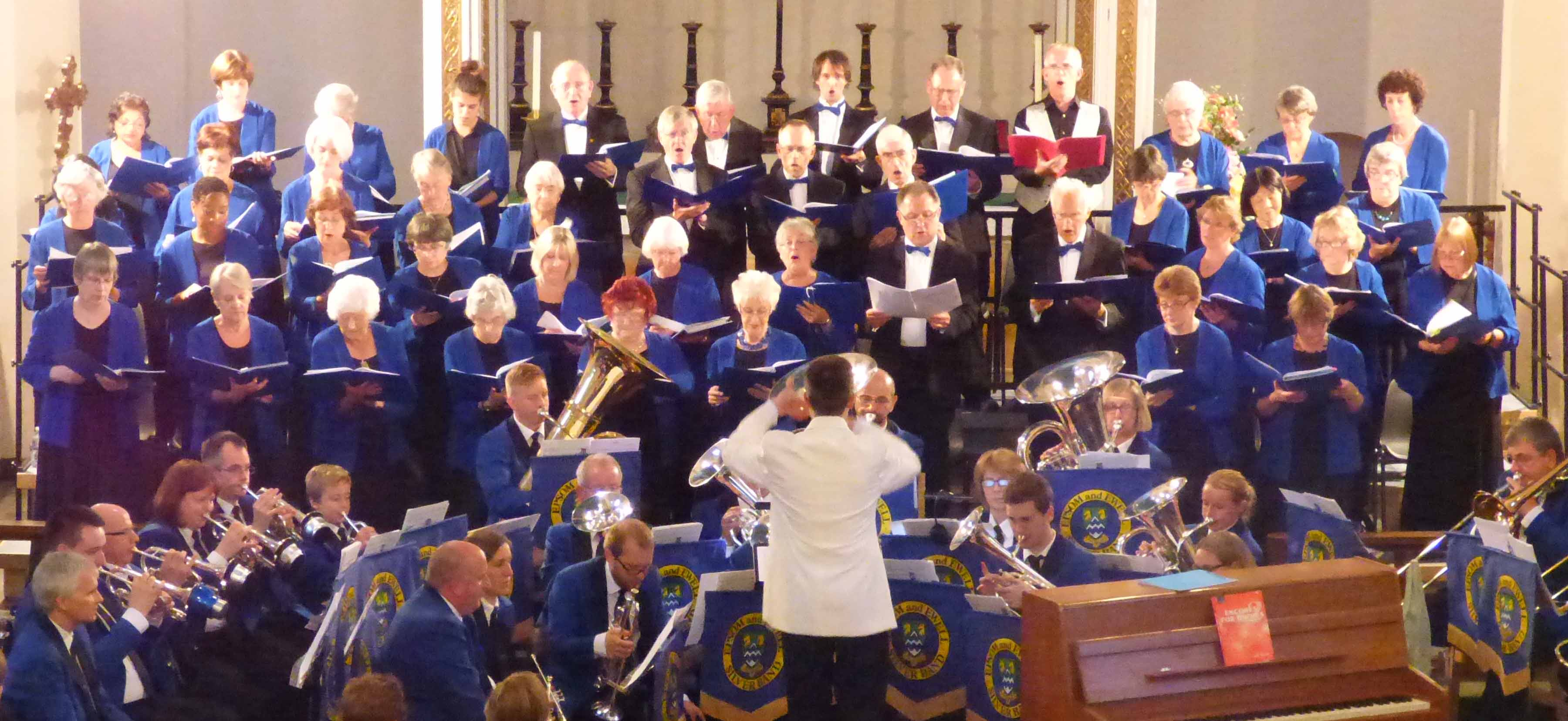 SCS and brass band